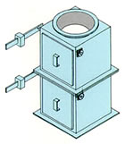 counter weight gates,mist eliminators,wet scrubbers,packed towers,gas absorbers